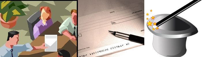 The case of the disappearing check book and bank statements
